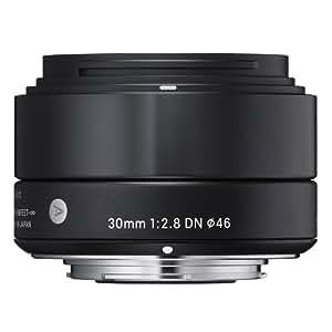 Sigma 30mm F2.8 EX DN Art (Black) for Micro 4/3