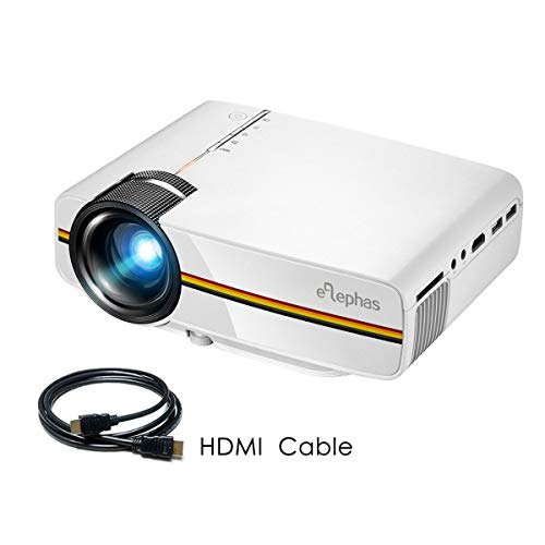 ELEPHAS LED Movie Projector, with 2018...