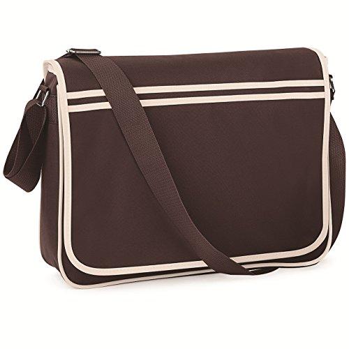 Chocolate Messenger Retro Pack Sand BagBase qwHxtvPnO