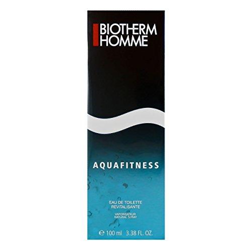 Biotherm Homme Aquafitness Eau De Toilette Revitalisante Spray 100ml 3.38oz