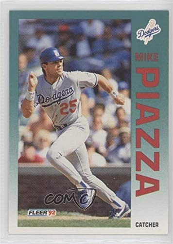 Mike Piazza (Baseball Card) 1992 Fleer Update - [Base] #U-92