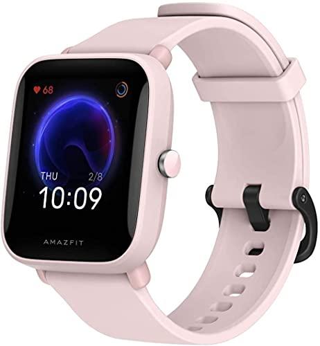 Amazfit Bip U – 1,43″ LCD Scherm – 9 Dagen Batterij – 60+ Sport Modes – Pink