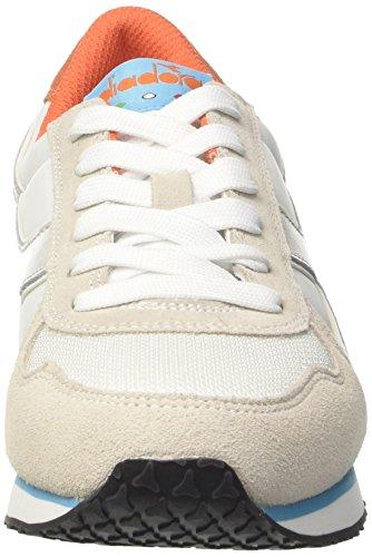 Arancio Chiaro Cassé Bco F Gris K Run Diadora Blanc Femme W Azz Basses Sneaker Ciano O7g8xAn