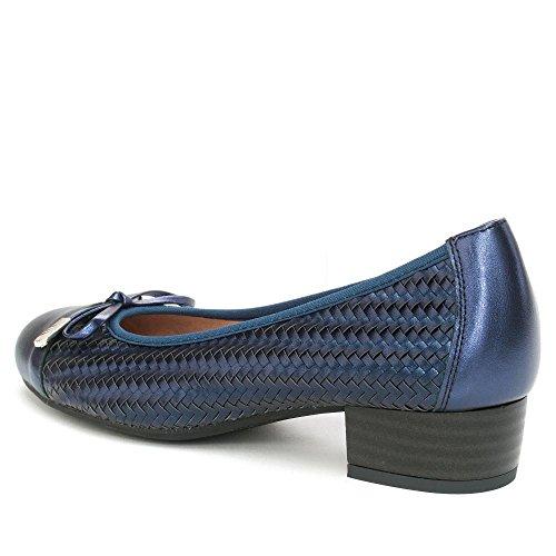Bleu Marine Femme Ballerines Pitillos Pour 6BnR8xqt