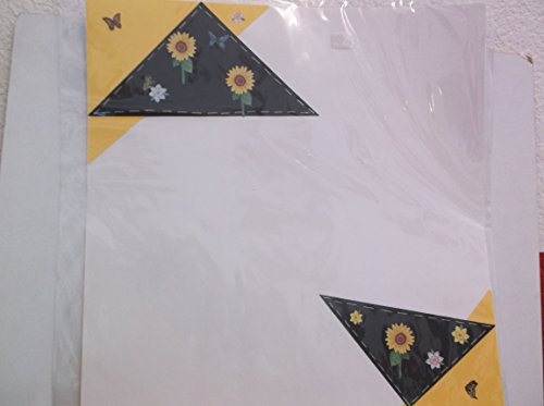 2 Sided 12 x 12 Pre Made *Spring/Autumn* Scrapbook Pages