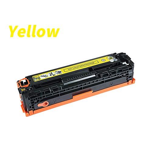 (XJUNXG Toner Cartridge,Canon LBP5050 Toner Cartridge Crg316,MF8030Cn.8050.8000 Powder Box,Color Easy to Add Powder High Blackness/Yellow)
