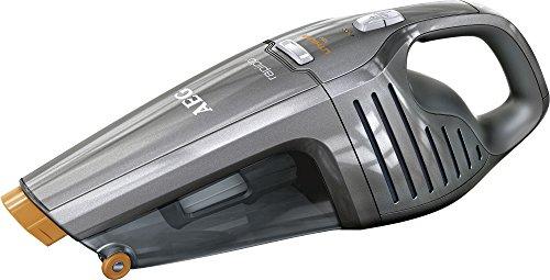AEG ECO Li 35 Rapido AG6120T Akkusauger (beutellos, Handstaubsauger mit 18 V Lithium-Power-Akku, Intelligente Ladeabschaltung, inkl. Fugendüse) grau