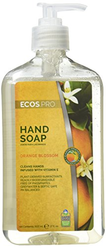 EARTH FRIENDLY PRODUCTS Earth Friendly pl9664/06 Hand Soap, 17 Oz Bottle, Translucent, Liquid