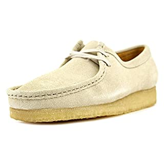 CLARKS Men's Suede Wallabee Shoes, Off White, 10.5 D(M) US (B01AAQWNH6) | Amazon price tracker / tracking, Amazon price history charts, Amazon price watches, Amazon price drop alerts