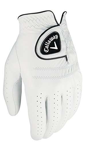 (Callaway Women's Tour Authentic Golf Glove, Worn on Left Hand, Small, Prior Generation)