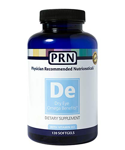 PRN Physician Recommended Nutriceuticals Dry Eye Omega Benefits, Dry Eye Relief, 1680mg EPA 560mg DHA Triglyceride Form Omega 3    by Physician Recommended Nutriceuticals