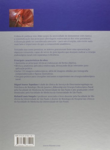 Endonasal. Atlas de Anatomia e Cirurgia Endoscópica dos Seios Paranasais