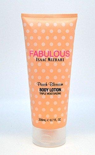 Isaac Mizrahi Fabulous Peach Blossom Triple Moisturizing Body Lotion 6.7 Oz ()