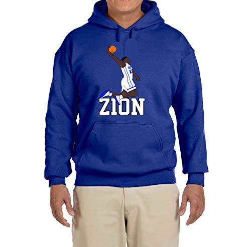 Tobin Clothing Blue Duke Zion Dunking Hooded Sweatshirt Youth Medium