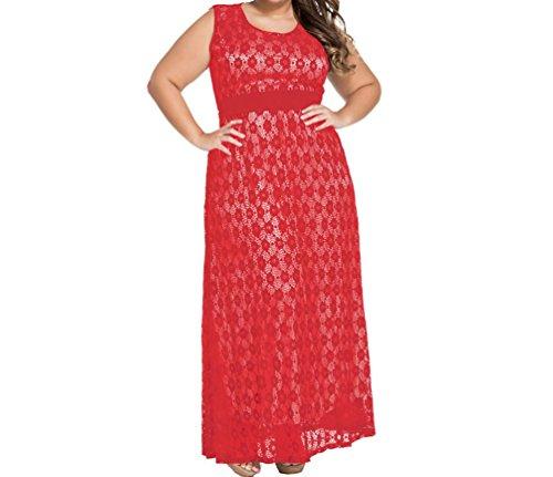 Buy belted lace dress poppy - 7