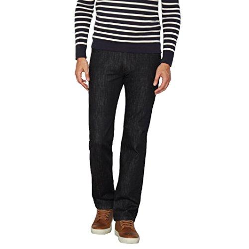 d6bd85314ae R Essentiel Mens Straight Jeans Black Size 38 Length 32 best ...