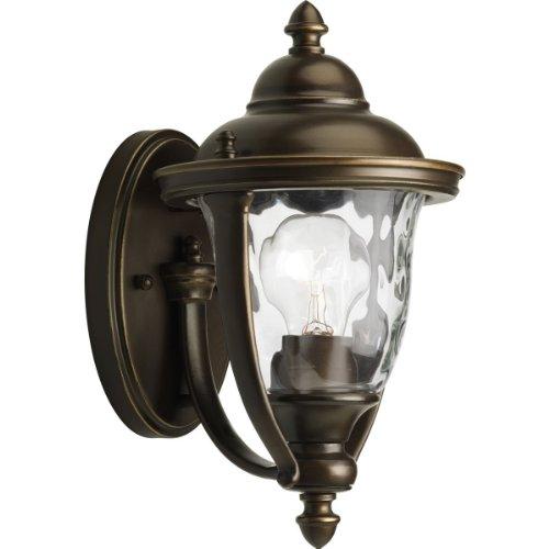 Progress Lighting Prestwick Collection Wall-Mount 1-Light Outdoor Oil Rubbed Bronze Lantern