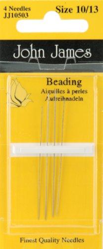 Hand Beading - Beading Hand Needles-Size 10/13 4/Pkg