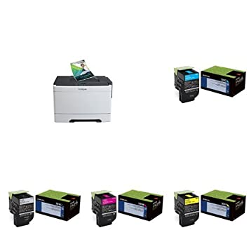 Amazon com: Lexmark CS310n Compact Color Laser Printer with