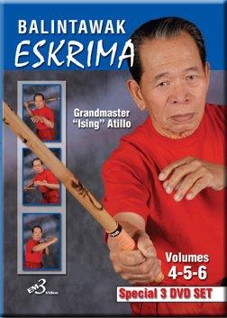 Master Eskrima (Grandmaster Ising Atillo Eskrima Balintawak Arnis Kali Vol 4-6 Set)