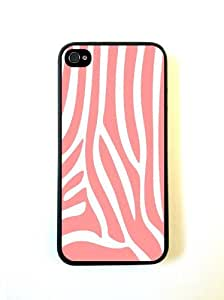 Coral Zebra Stripes iphone 5c Case - For iphone 5c - Designer TPU Case Verizo...