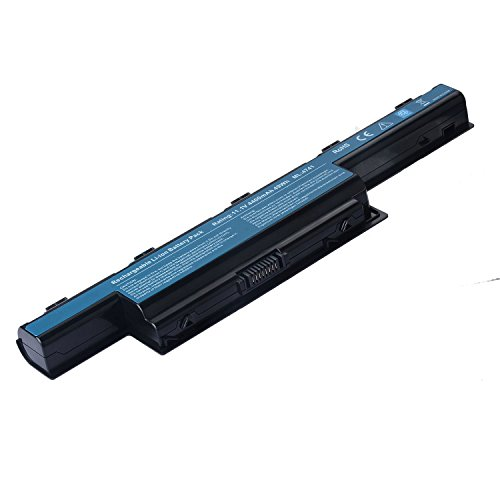 TAUPO New Laptop Battery for Acer AS10D31 AS10D51, Acer Aspire 5253 5251 5336 5349 5551 5552 5560 5733 5733Z Acer TravelMate 5740 5735 5735Z 5740G Gateway NV55C NV50A NV53A NV59C (Acer Aspire Computer Battery)
