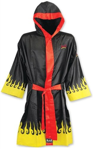 M.A.R InternationalLtd Boxing And Kickboxing Robe Muay Thai Gown Martial Arts Training Supplies Gear Polyester Silk Satin Fabric M.A.R International Ltd