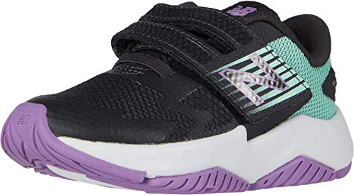New Balance Kids Baby Girl's Rave Run v1 (Infant/Toddler) Phantom/Neo Mint 5 Toddler