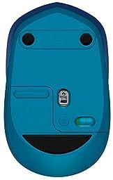 Logitech M535 Compact Bluetooth Mouse, Blue (910-004529)