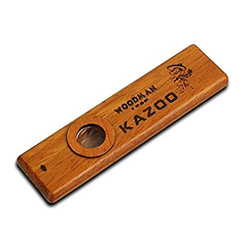 High-end Wood Kazoo Instrument Ukulele Guitar Partner Wood Harmonica