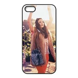 iPhone 4 4s Cell Phone Case Covers Black alyssa Miller Elle Italia H2752988