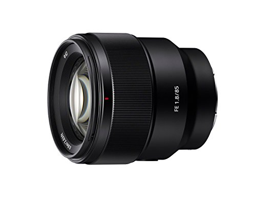 Sony SEL85F18 85mm F/1.8-22 Medium-Telephoto Fixed Prime Camera Lens, Black (Digital Switch Sony)