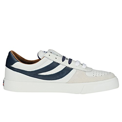 Leau blu Navy Sneaker Uomo White Superga Bianco 6qnwfUFt