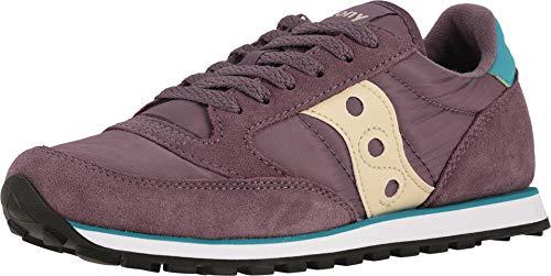 Saucony Originals Women's Jazz Lowpro Sneaker, Purple/Teal, 10 M US (Saucony Originals Women Size 10)