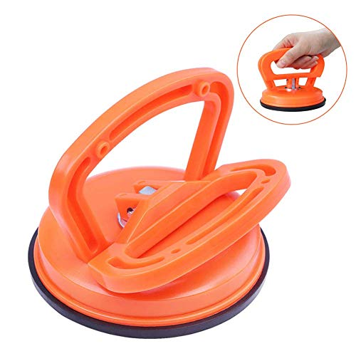 Vacuum Suction Cup Glass Lifter, Suction Cup with Double Handle Locking for Lifting, Vacuum Lifter for Glass/Tiles/Mirror/Granite Lifting, Gripper Sucker Plate, 1 Pack