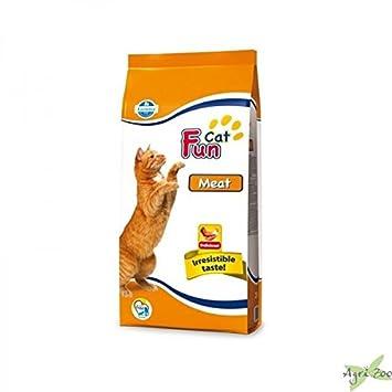 FUN CAT Con carne seca de 20 kg CAT- - Comida seca gatos croquetas: Amazon.es: Productos para mascotas