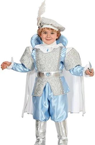 Disfraz Carnaval Princesas Azul 4ANNI azul claro: Amazon.es: Bebé