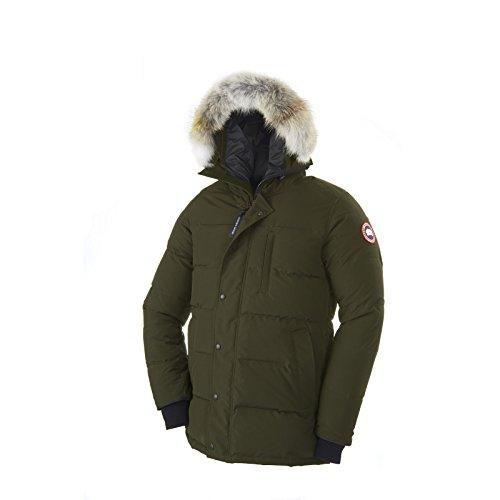 Canada Goose Carson Down Parka - Men's Military Green, XS