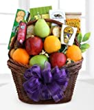 Under the Weather Get Well Gift Basket - Same Day Gift Baskets Delivery - Fresh Fruit Baskets - Fruit Basket Delivery - Organic Fruit Baskets - Best Gift Baskets
