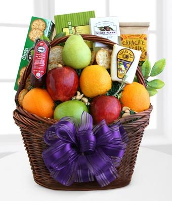 Under the Weather Get Well Gift Basket - Same Day Gift Baskets Delivery - Fresh Fruit Baskets - Fruit Basket Delivery - Organic Fruit Baskets - Best Gift Baskets by eshopclub