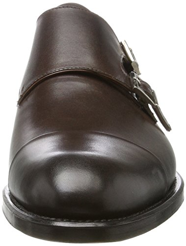 CAMPANILE T2, Monkstrap Uomo Marrone Scuro