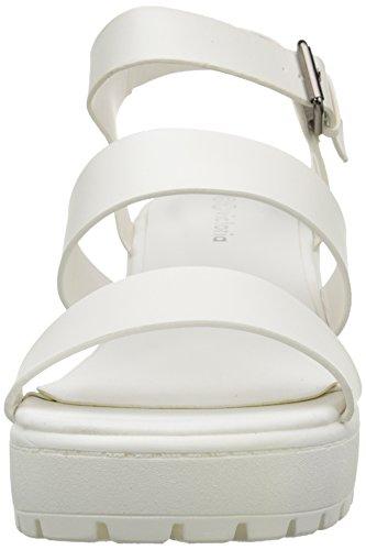 Blanco Mixte Victoria Plateforme Sandalia Pu Sandales 20 Adulte Blanc w118qzxSB