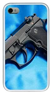 Barreta PC hard Case Cover for iPhone 4 and iPhone 4s ?¡ìC White