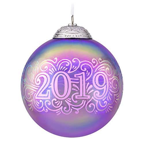 Hallmark Keepsake Keepsake Ornament, 2019 Commemorative Ball ()