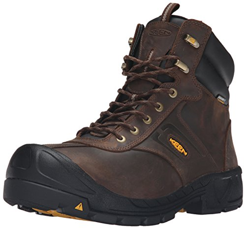 Keen Utility Men's Warren Waterproof Work Boot, Cascade Brown, 11 M US