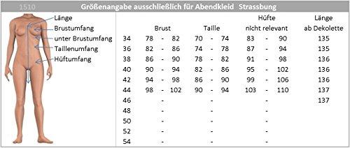 JuJu Beinschlitz und Strassburg vers Träger mit Ballkleid Abendkleid Gr 34 Farben Christine Knöchellanges amp; Burgund 44 Unaq0pUg