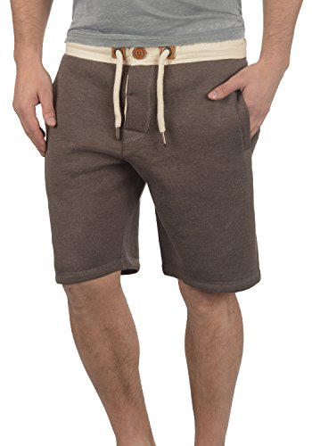 Coffee Sweat En Melange Bermuda Homme Pantalon 8973 Jogging Doublure Tripshorts Pour Bean Court Short solid Polaire qtc467BE