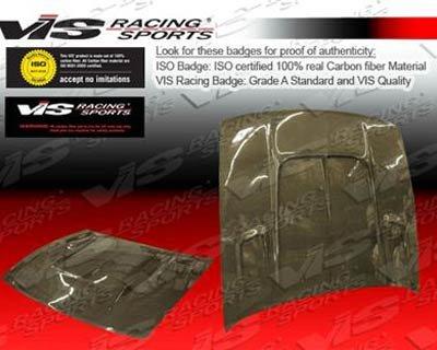 VIS 89-94 Nissan S13 JDM Carbon Fiber Hood DRIFT 2 - Carbon Hood Fiber s13