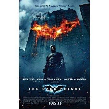 amazon com the dark knight burning bat symbol movie poster mini