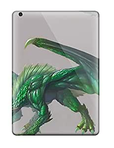 Dolores Phan's Shop Quality Case Cover With Emerald Dragon Nice Appearance Compatible With Ipad Air